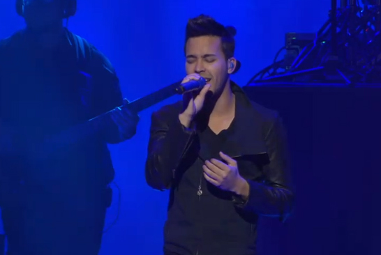 Latin Pop Singer Prince Royce
