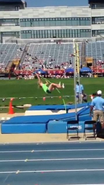 McCorkle's bronze earing jump