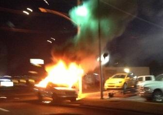 fayetteville truck fire