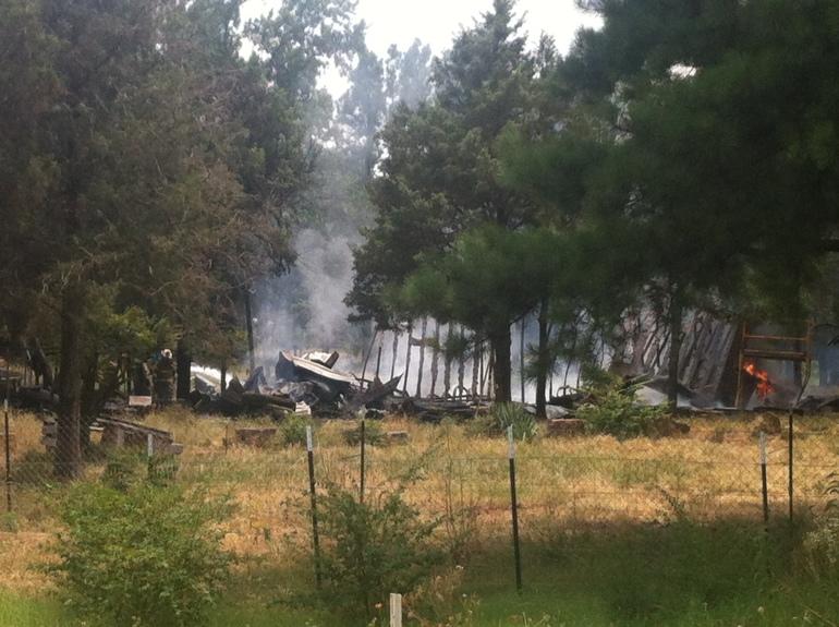 Goat Barn Fire 7-13