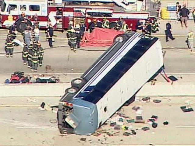 Indy Bus Crash