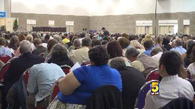 Annual Jehovah S Witness Convention Wraps Up In Fort Smith