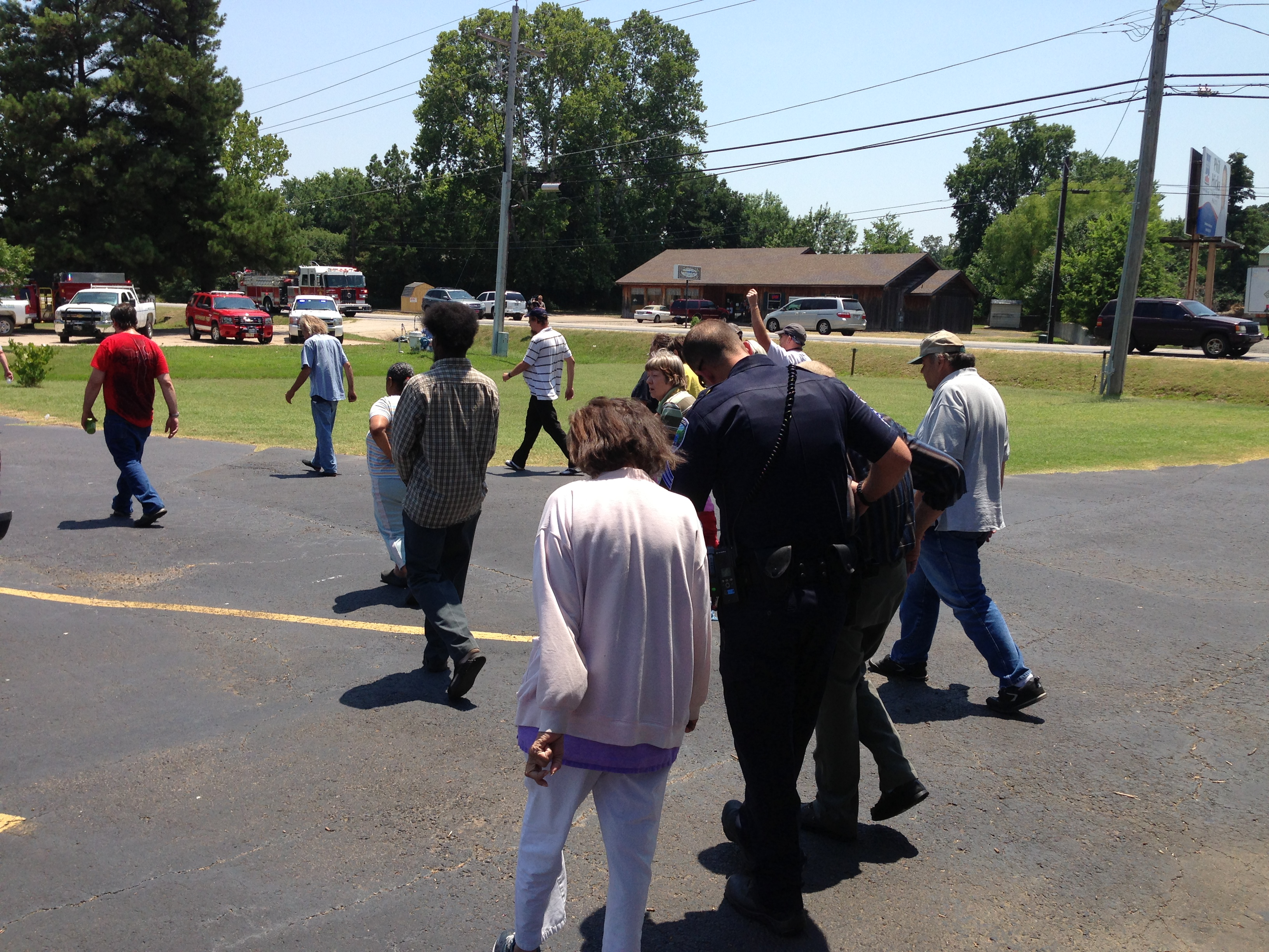 retirement center evacuated