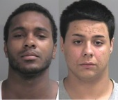 Co-defendant Javaughntaiye Willis and Alberto Delatorre (right)