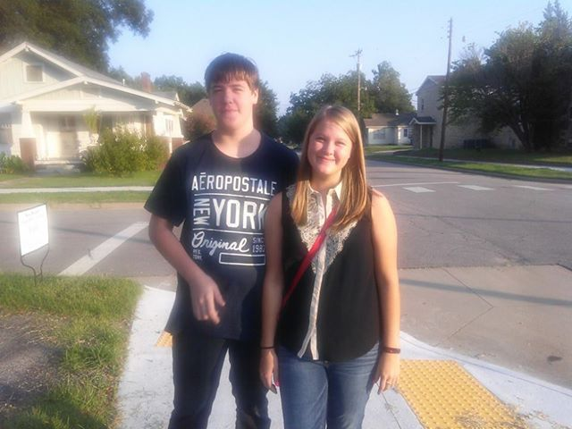 Reanna's senior year and Jason's sophomore year!