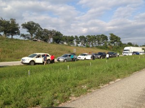 540 wreck 6 cars