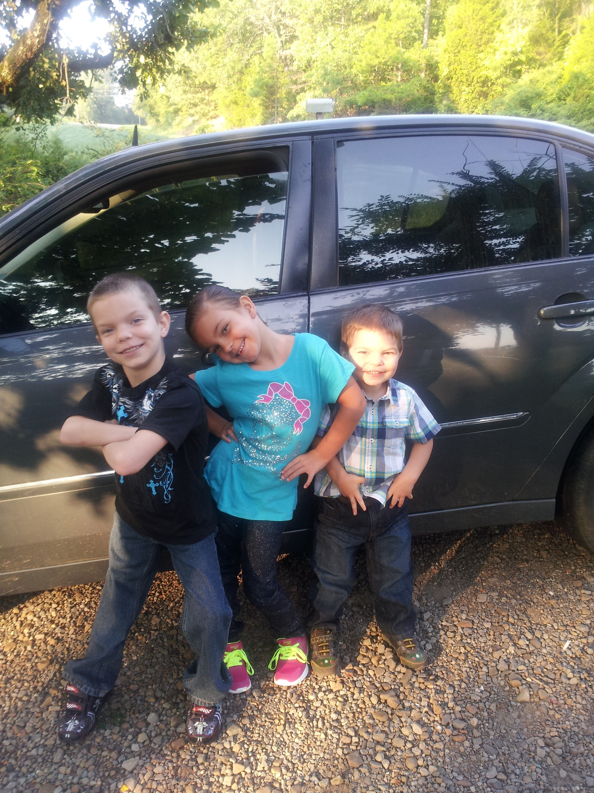 Brayden, Aubry, and Skyler