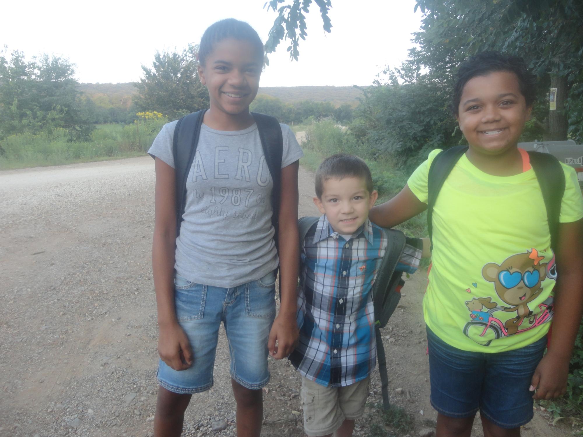 Jacquelynn 12 , Kyli 10 and Eli 5