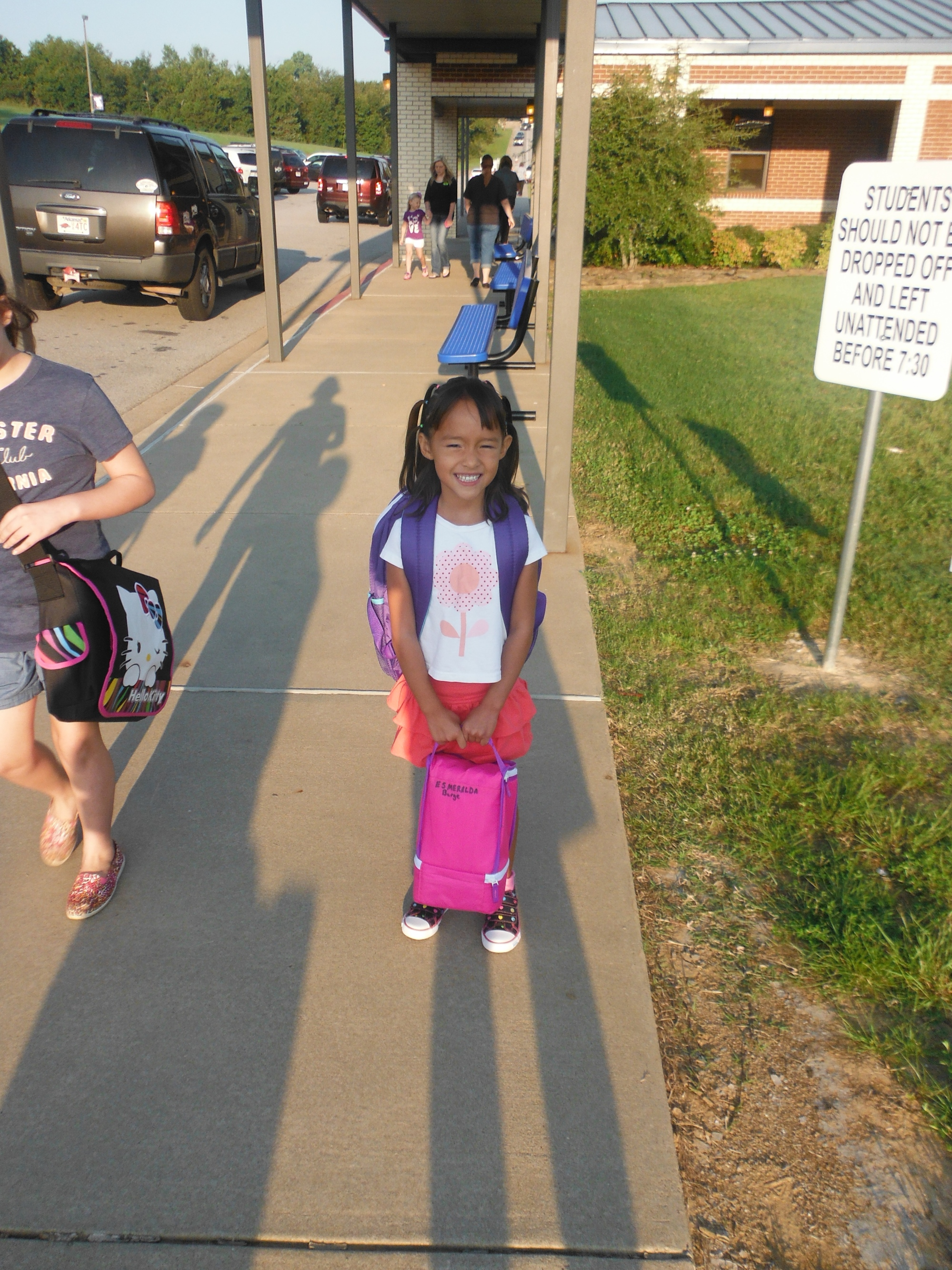 First Day of Kindergarten at East Pointe Elementry in Greenwood.