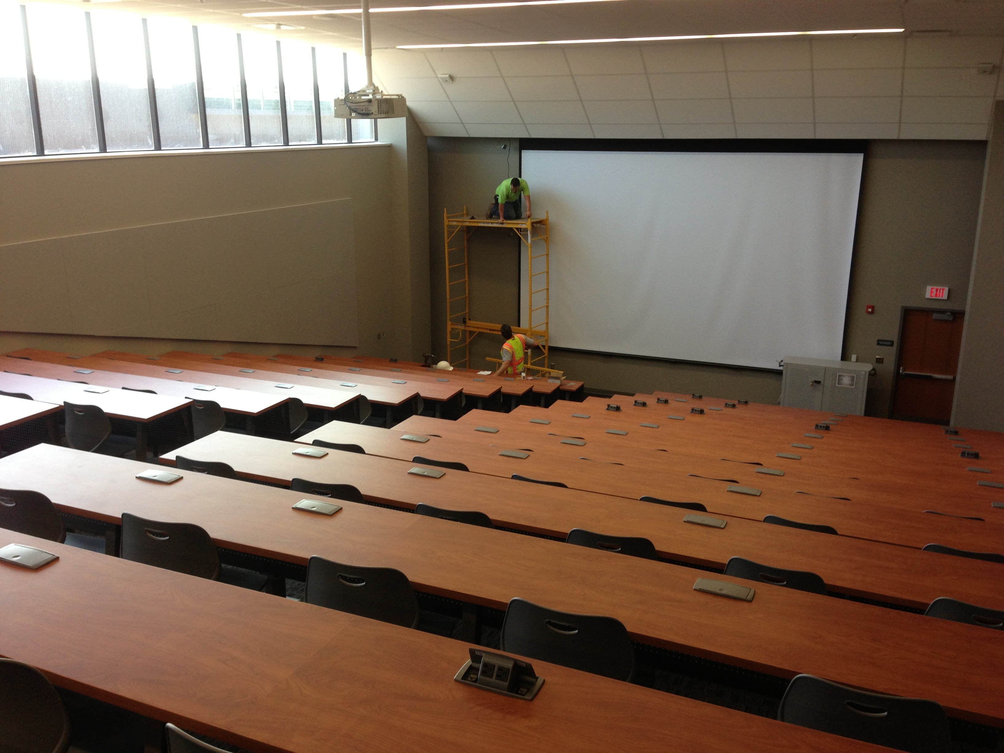 FHS lecture hall