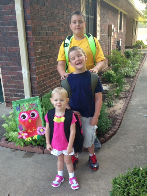 First day of school and preschool in Alma