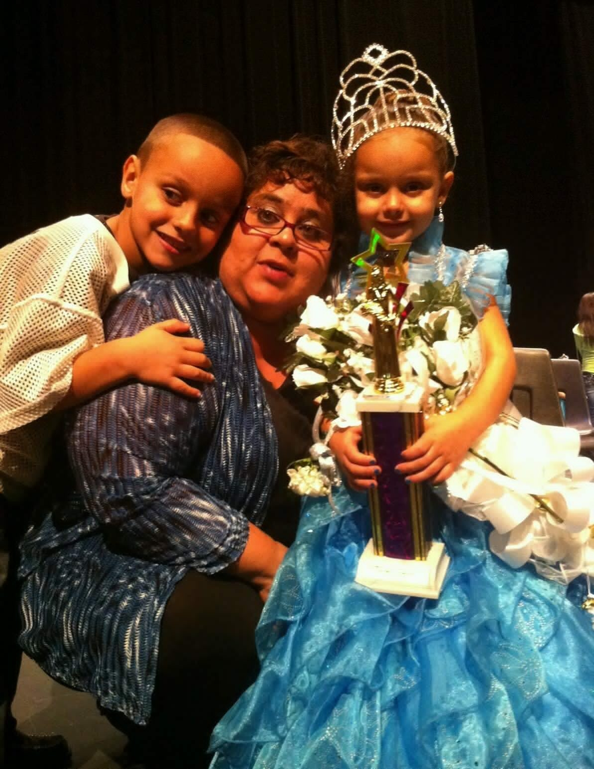 This is Adrienne Castillo and she won overall Alma Little League Homecoming Princess of 2013