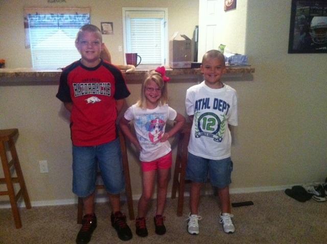 Jayden, Cheyenne, and Josh