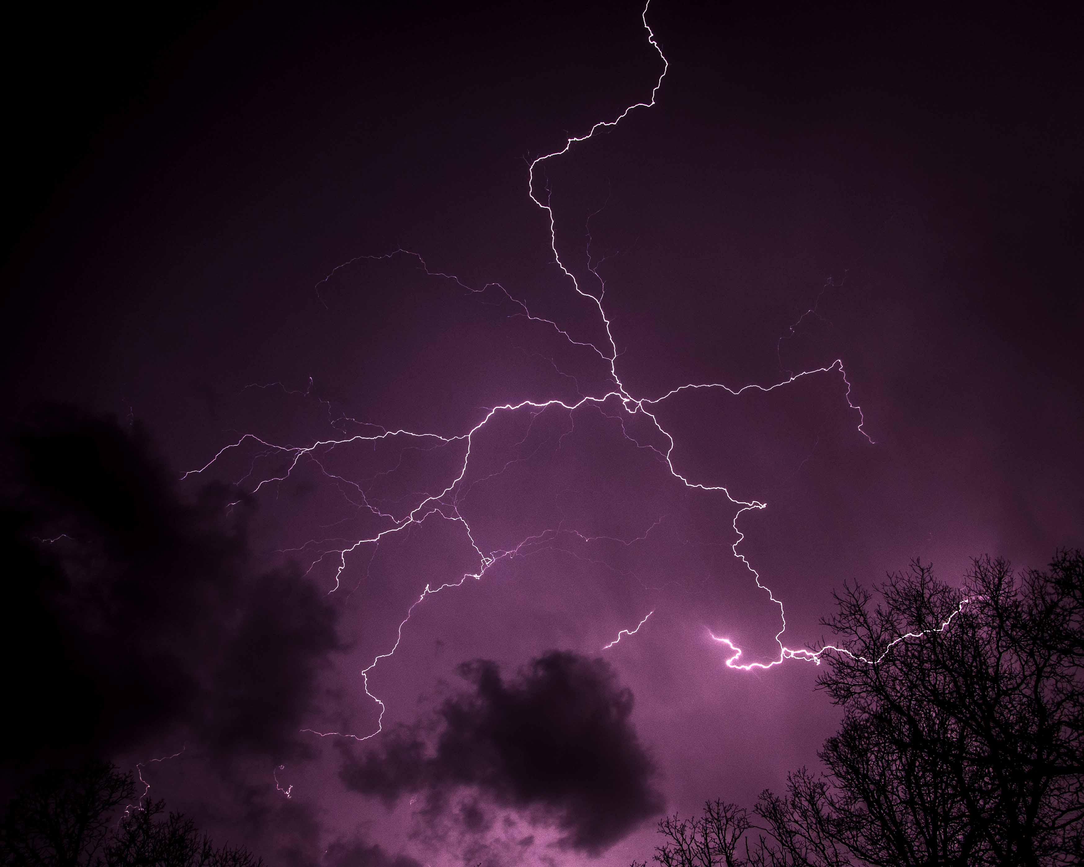 Lightning from Greenland
