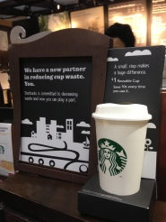 Starbucks $1 Reusable Cup