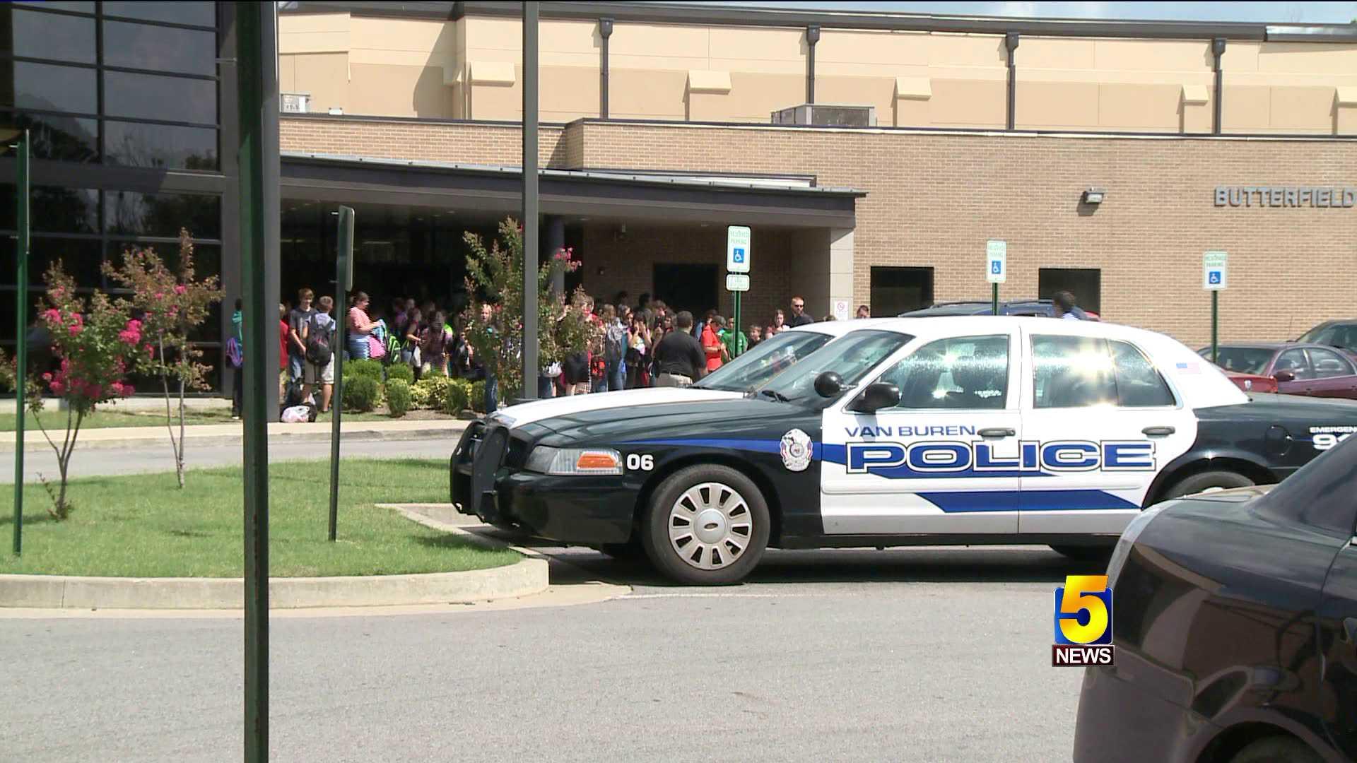 van buren school security