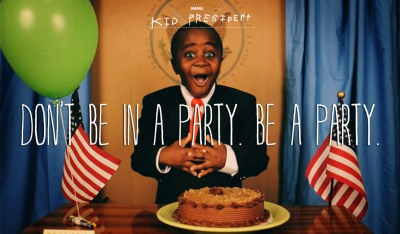 Courtesy: kidpresident.com