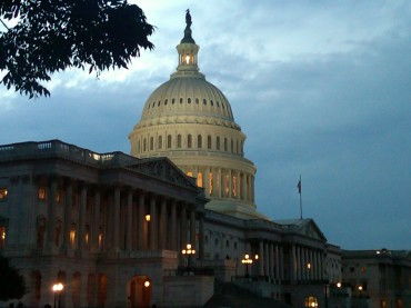 U.S. Capitol Building at Sunset