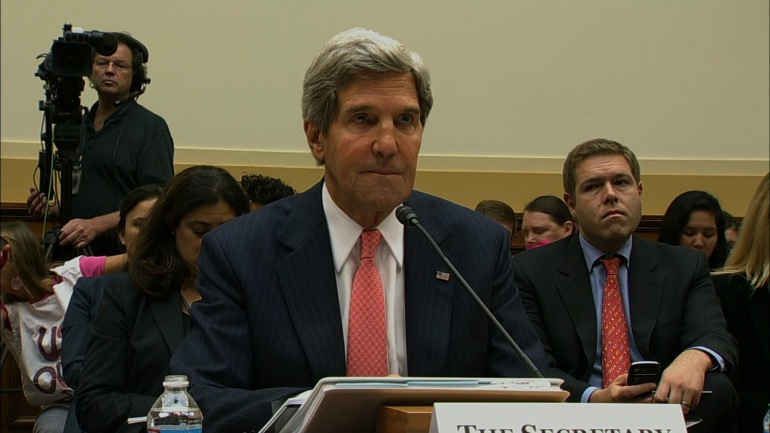 Secretary of State John Kerry on Syria