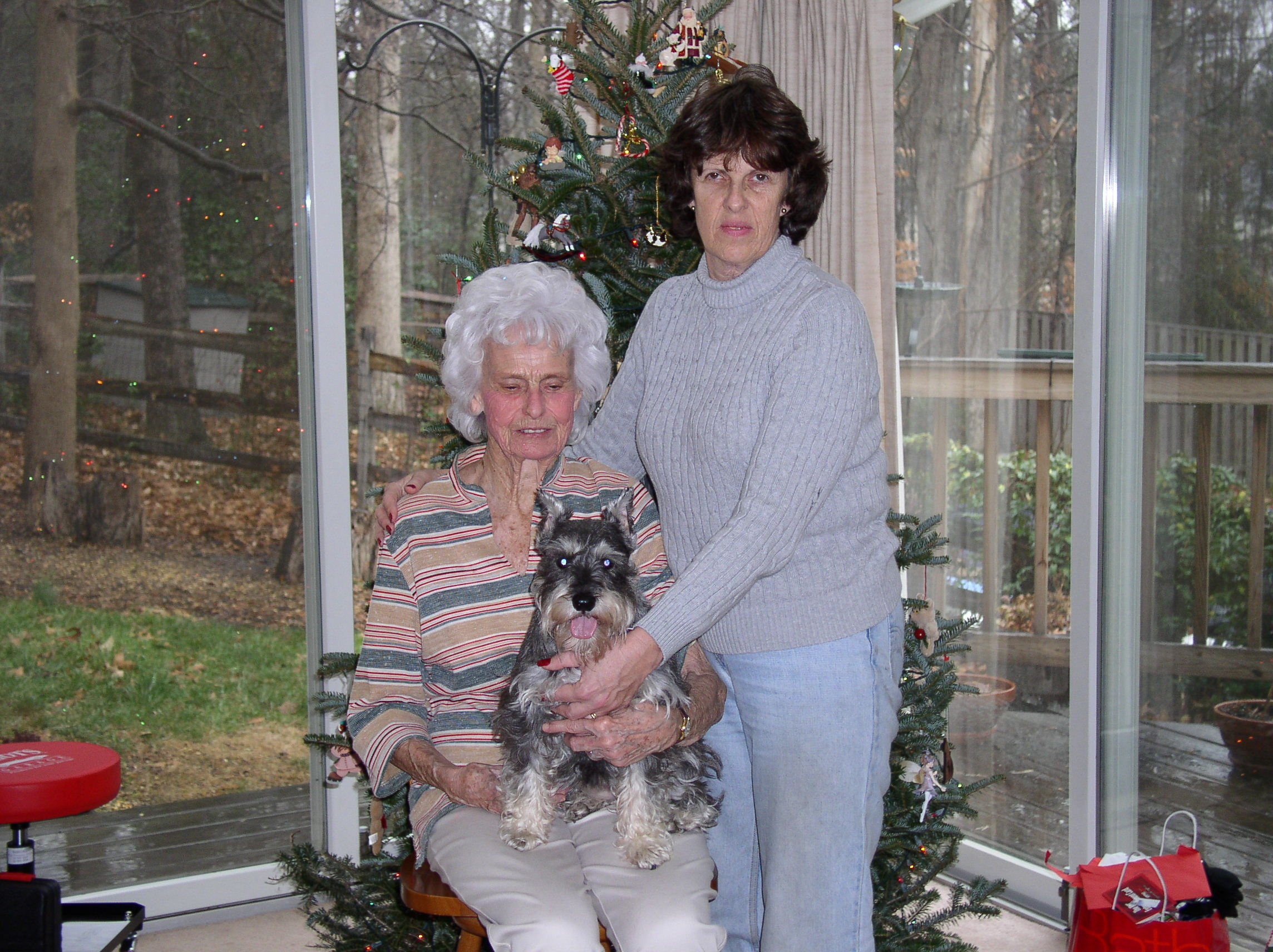 The picture is of Kathy with her 94 year old mother who she cared for until she passed away last year. Kathy was a caring daughter, fantastic mother, wife (of 38 years) and best friend for 43 years. She loved her animals.
