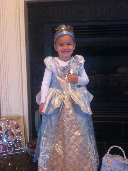 Brooklyn as Cinderella