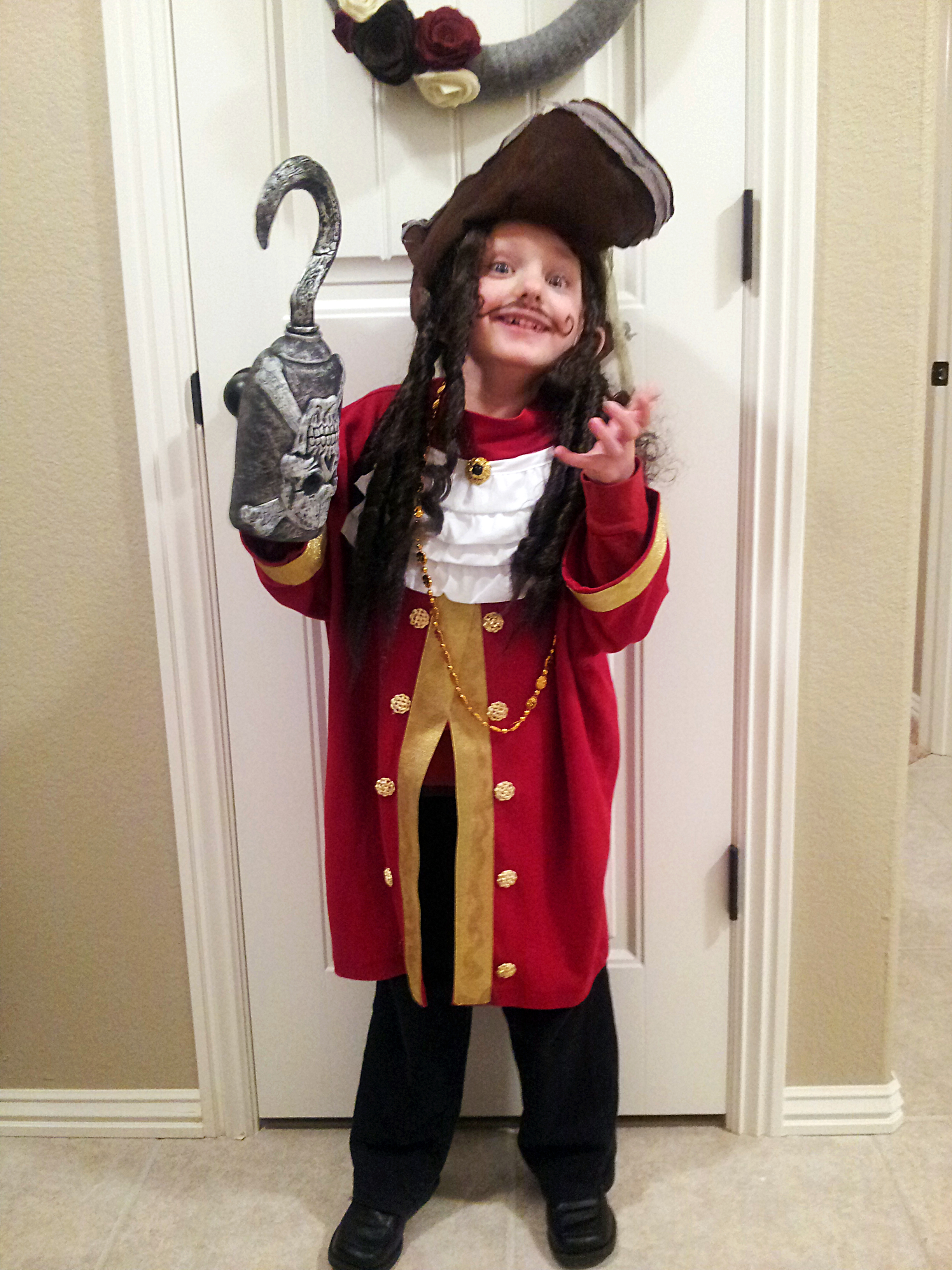David as Captain Hook