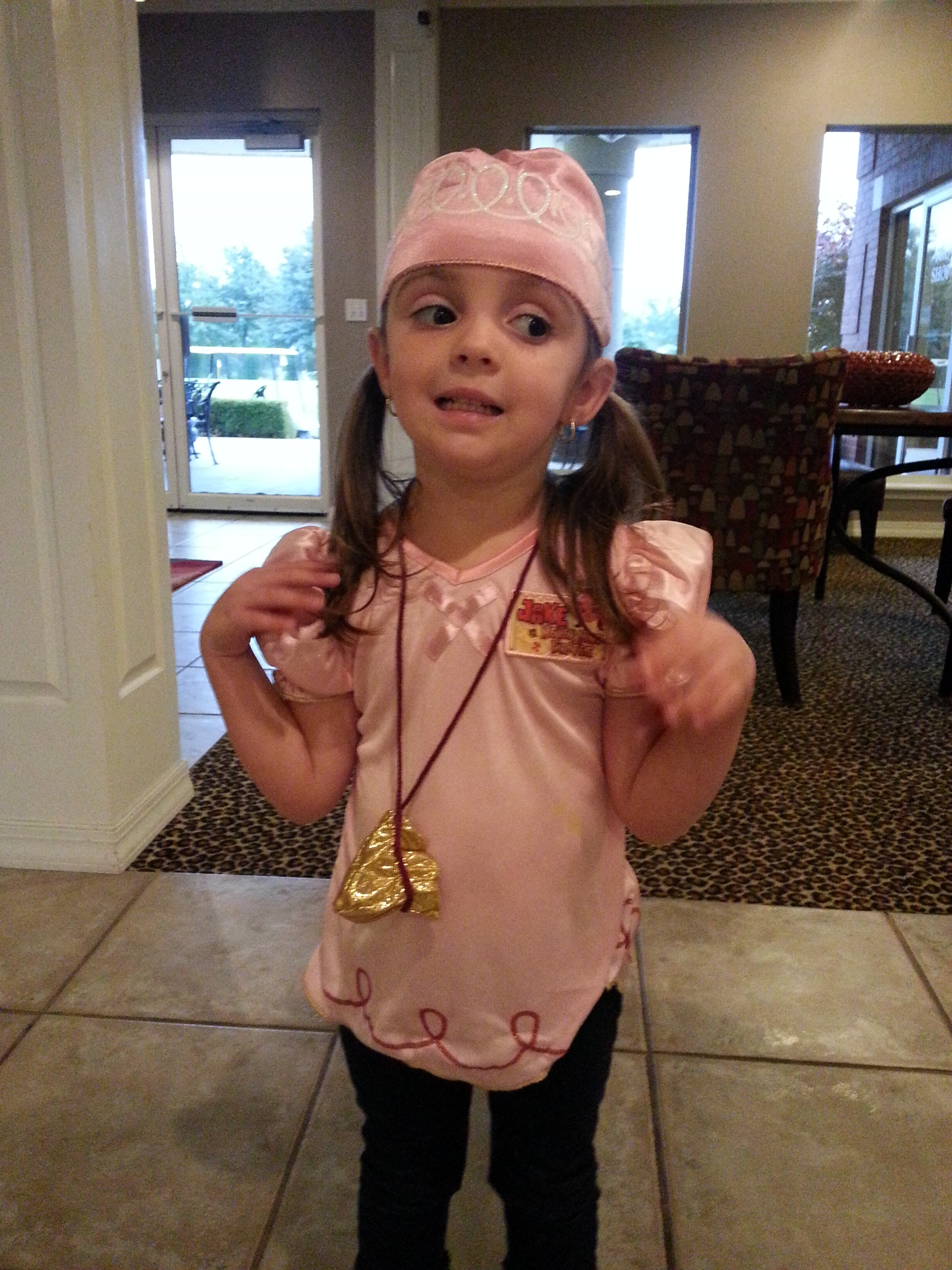 Izzy from ake and the Neverland Pirates (Age 3)