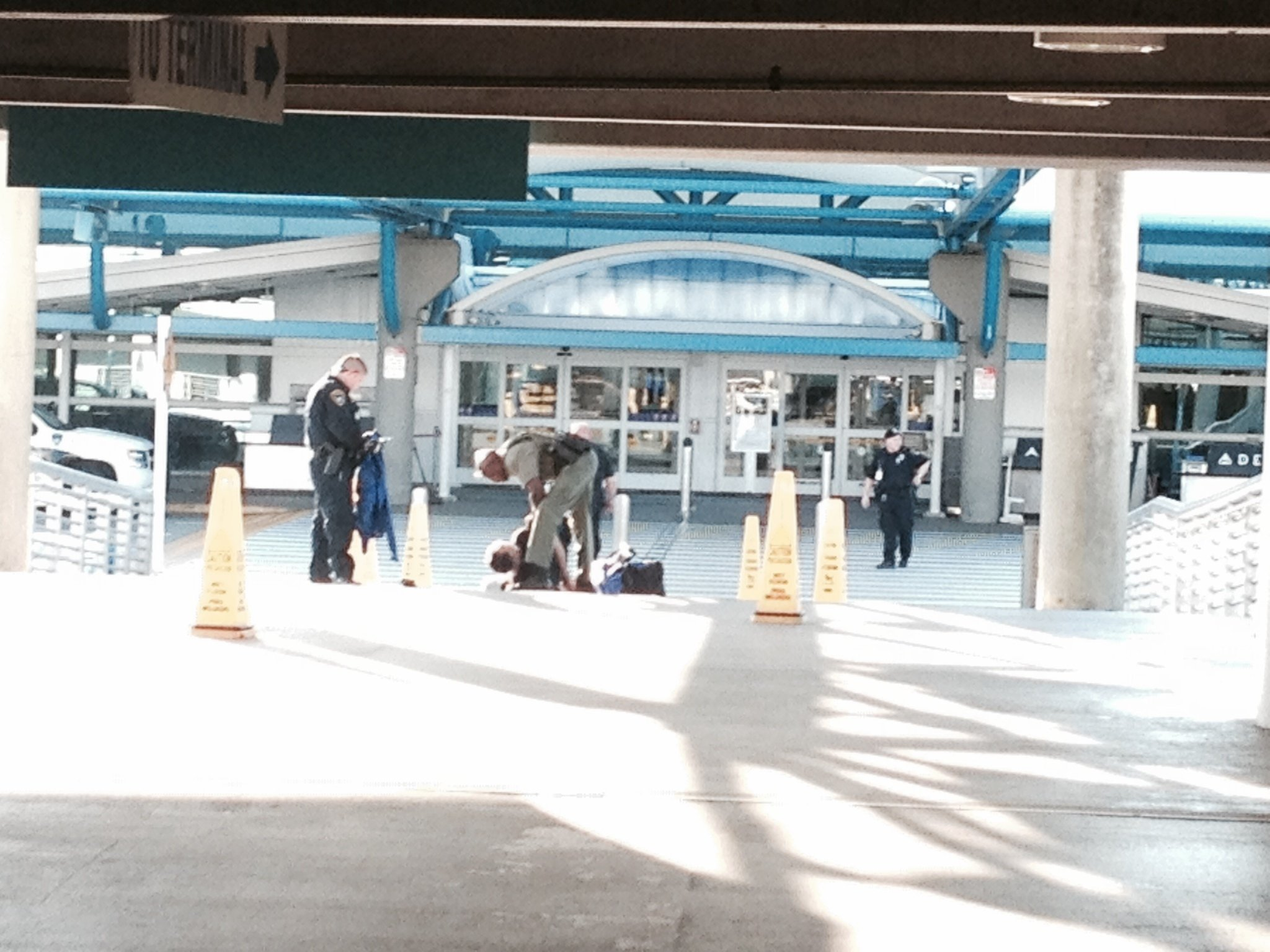 Suspicious Packages at Jacksonville International Airport