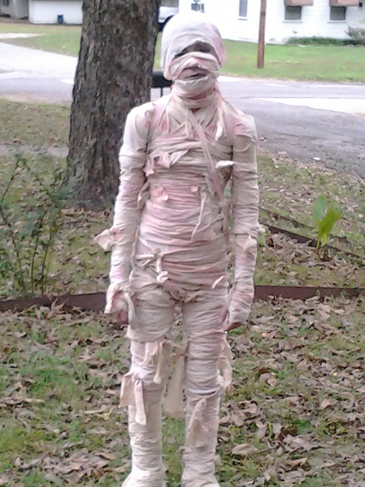 Zach the Mummy from Larry Townsend