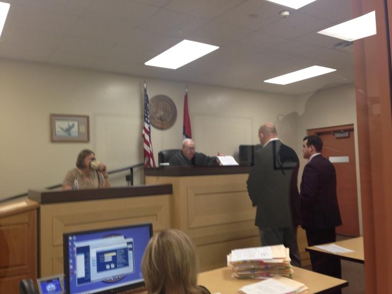 melton arraignment