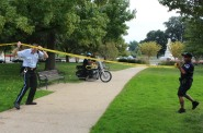 Capitol Hill Shooting Scene