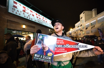 Frenzied Atmosphere for World Series Game 1