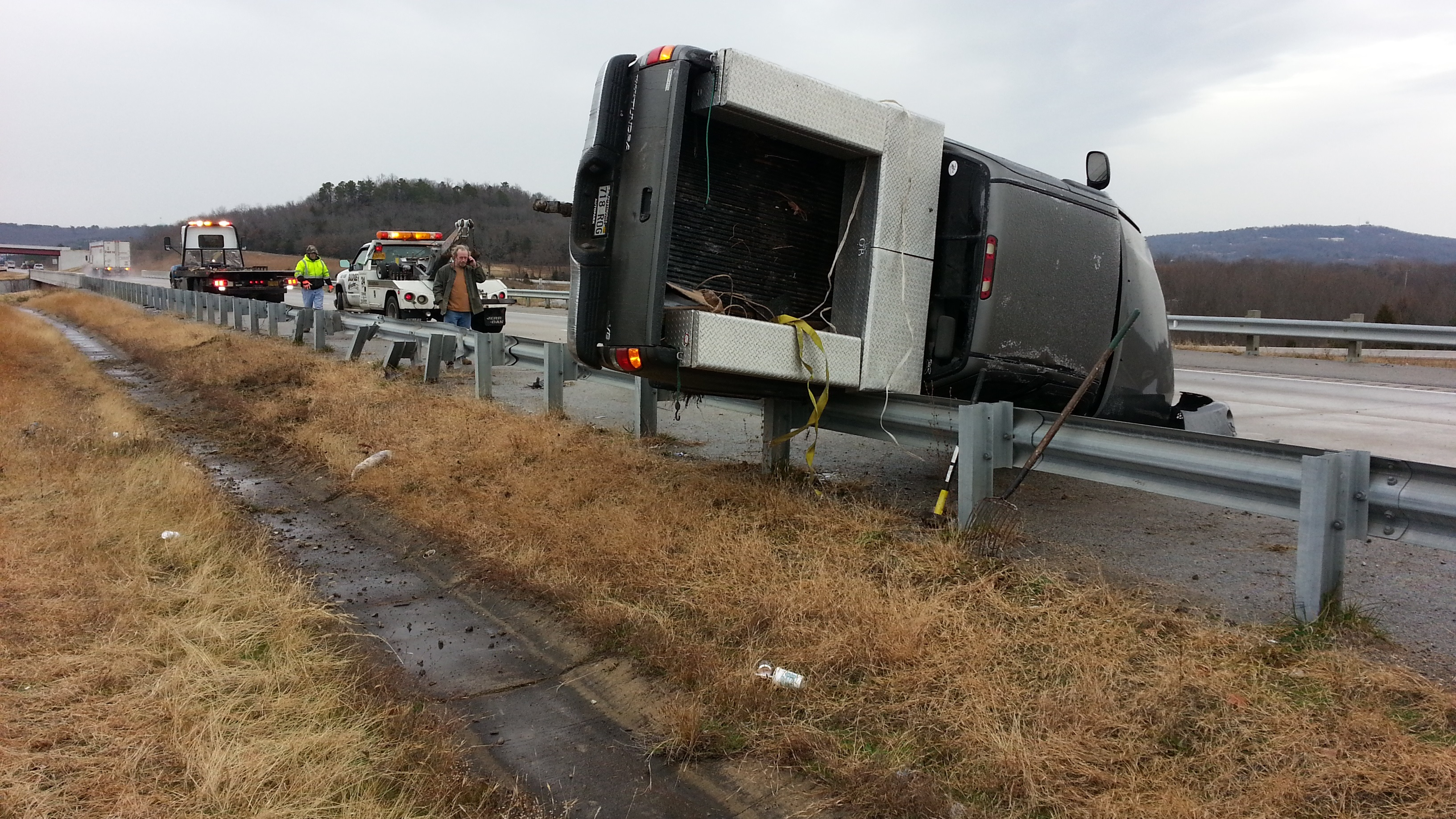 I-540 Wreck near Cato Springs Exit