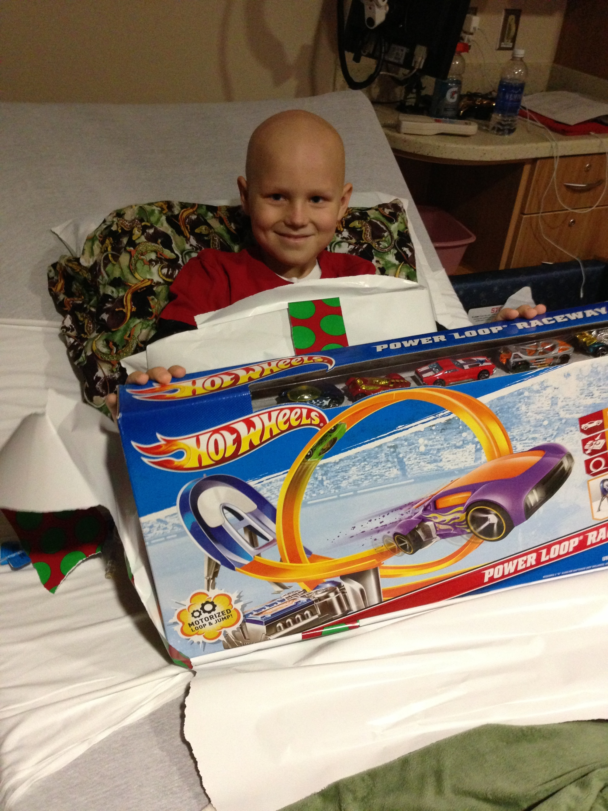 "Sent in by Amber Alder - ""Merry Christmas from Arkansas Children's Hospital!"""