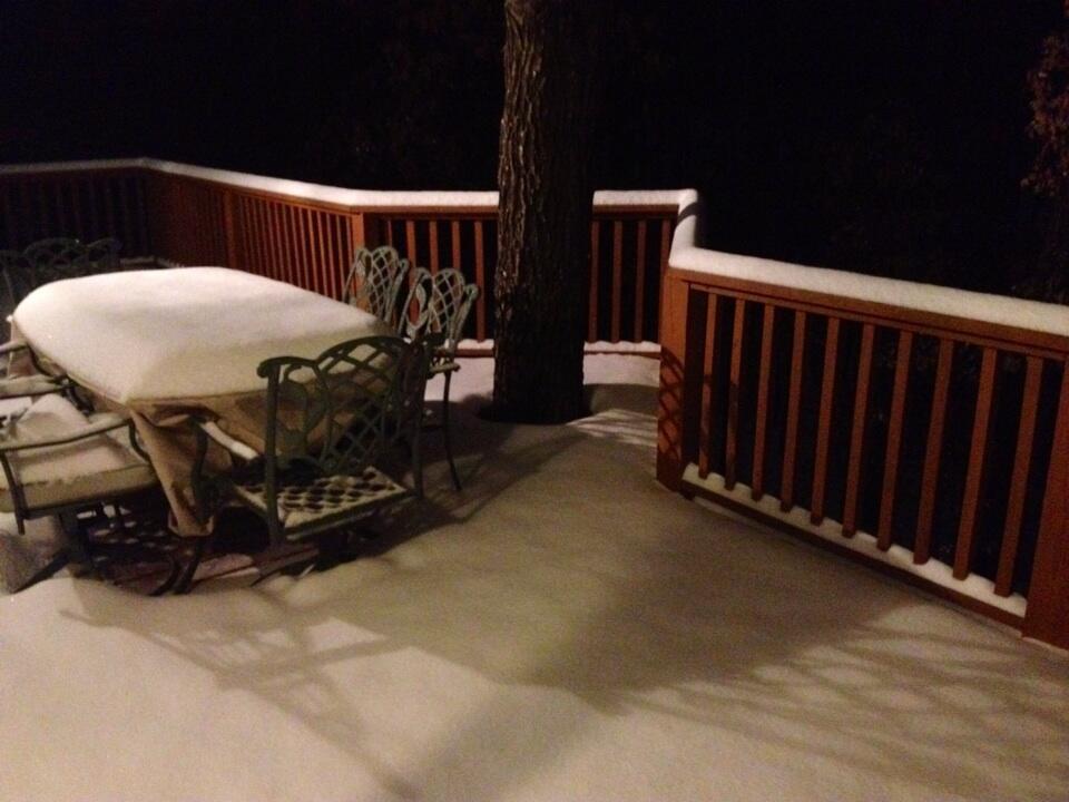 Bentonville Snow