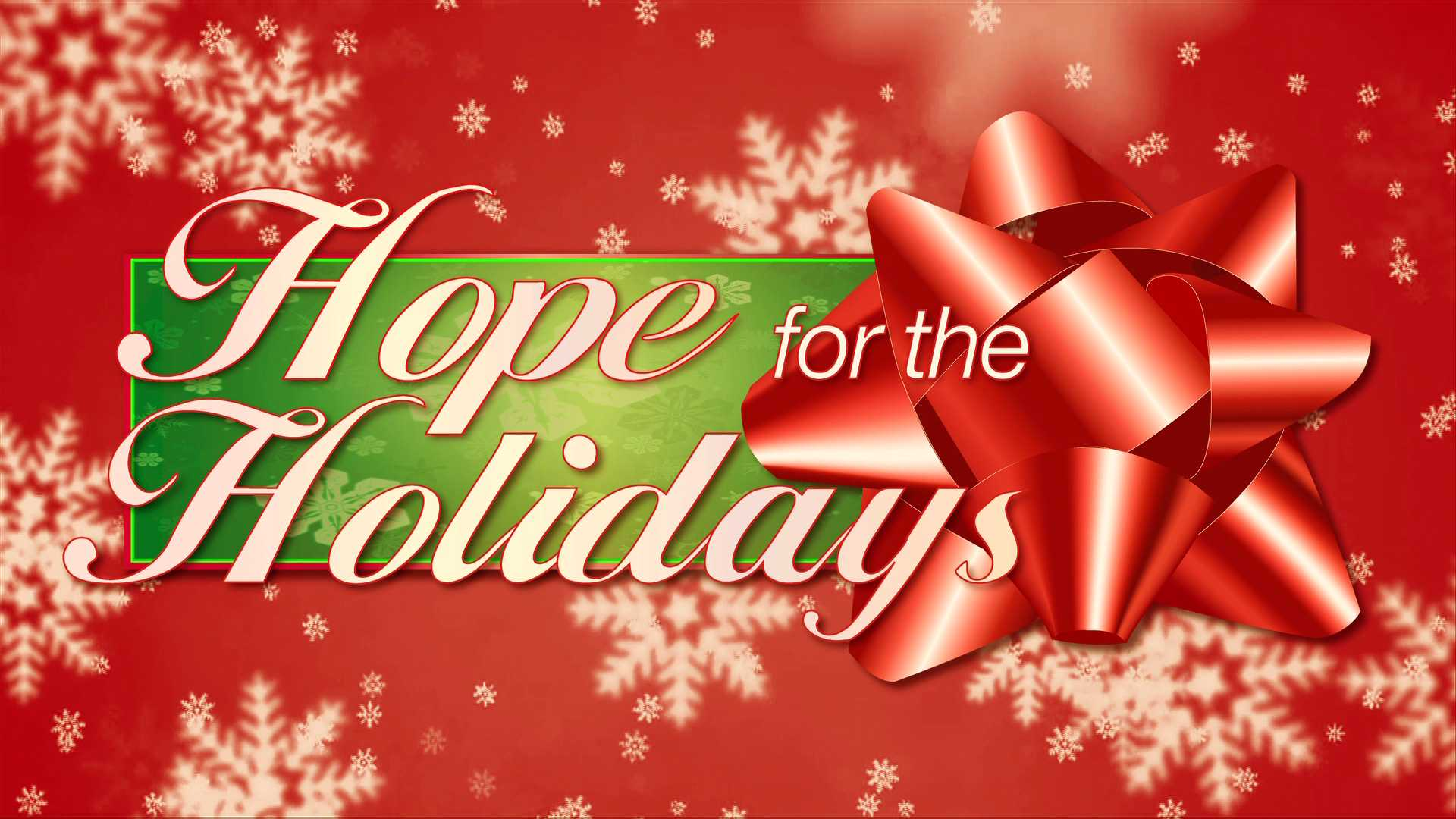 hope for the holidays gx