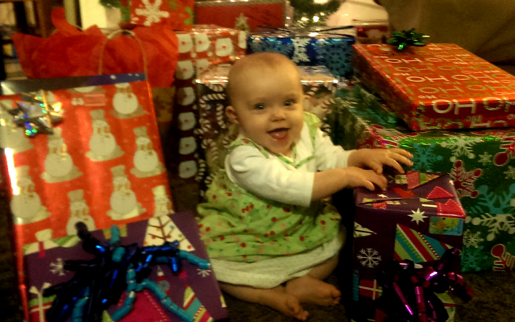 Kaylee Jo, 1st Christmas