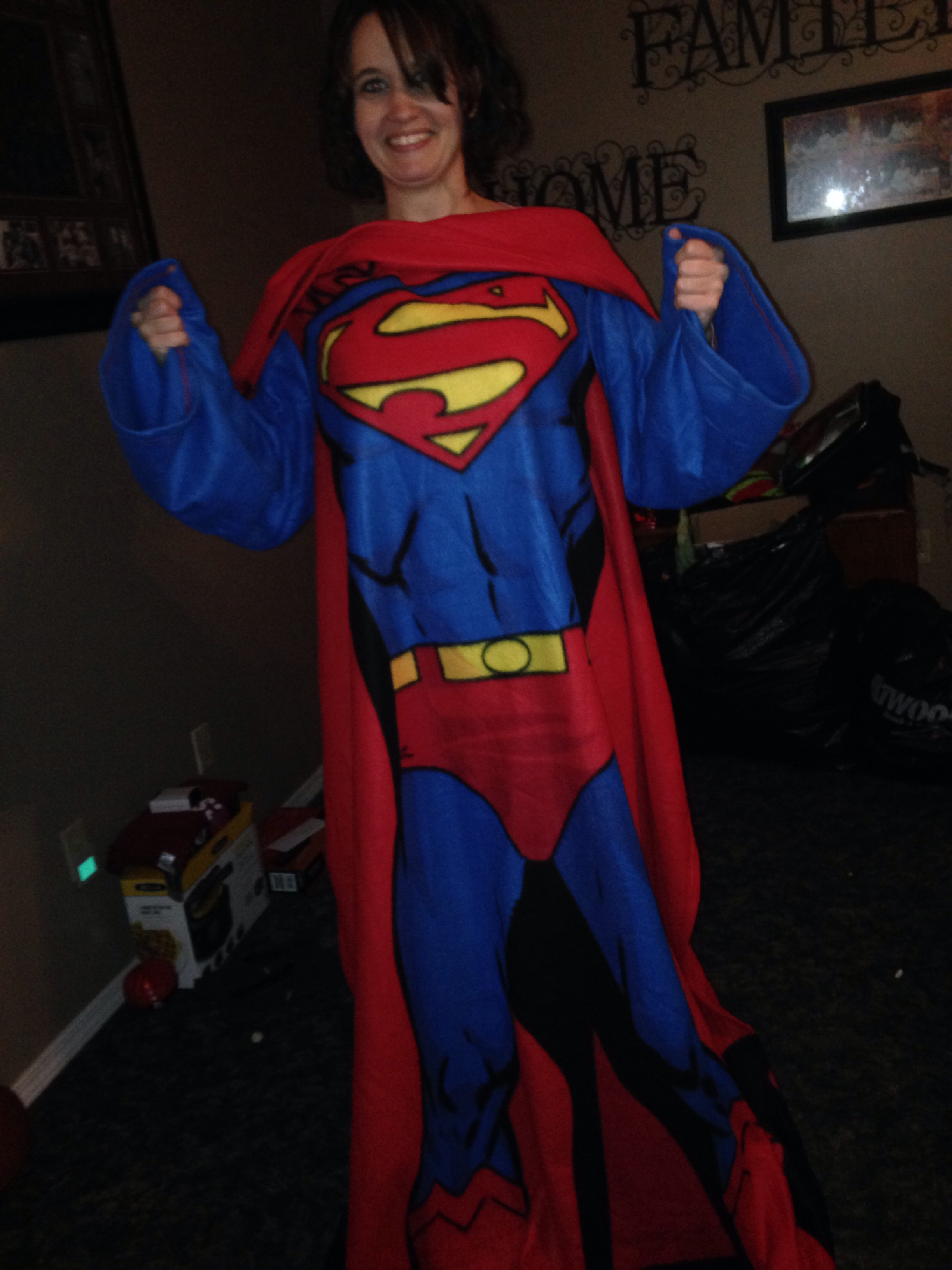 Superman Snuggie, Jennifer Edwards, Clarksville