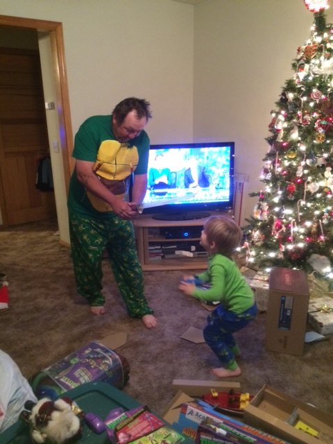 "Sent in by Crystal Eaton - ""A Ninja Turtle Christmas"""