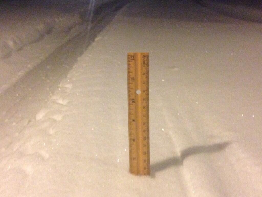 Pea Ridge Snow