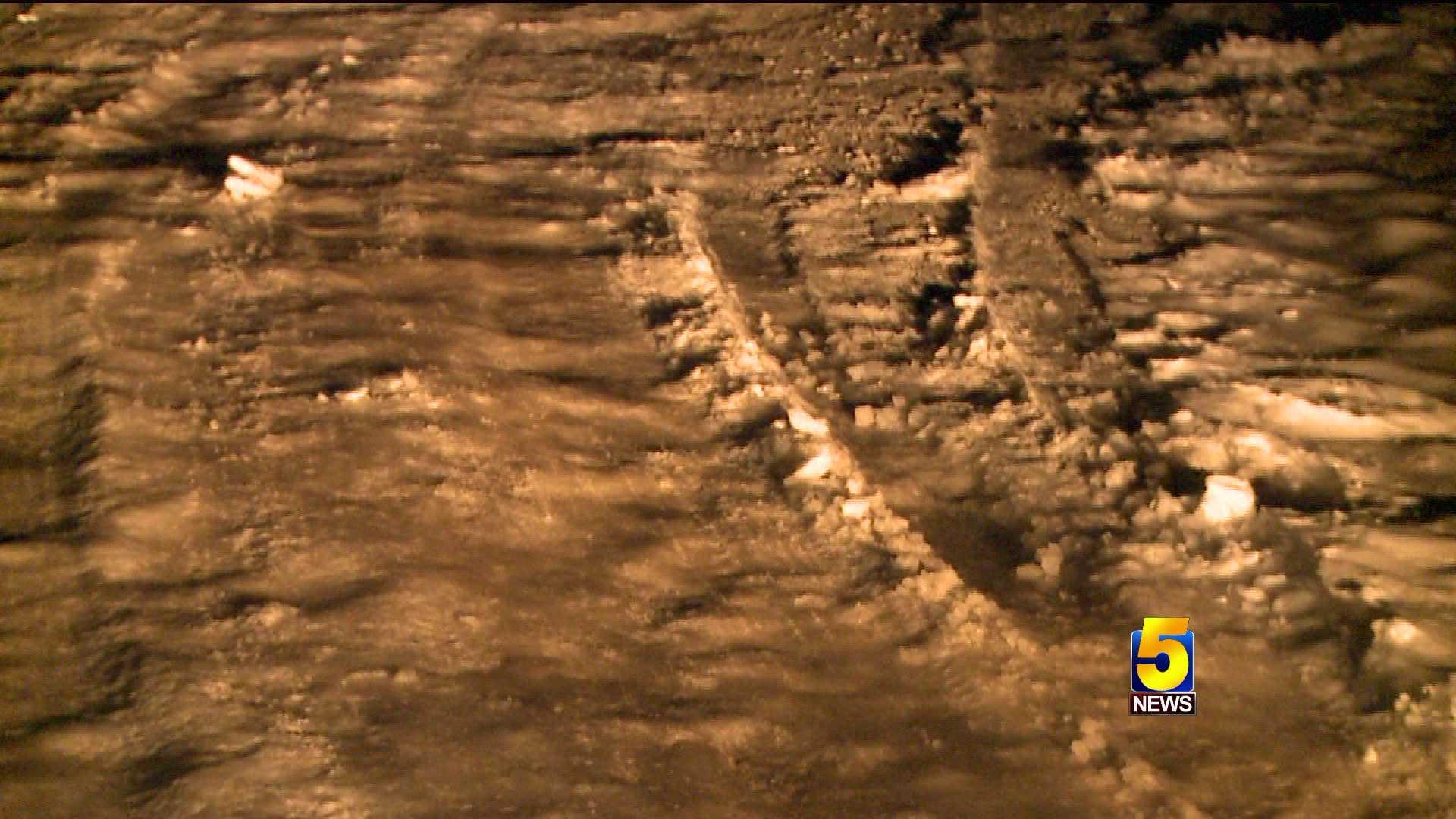 roads snow huntsville