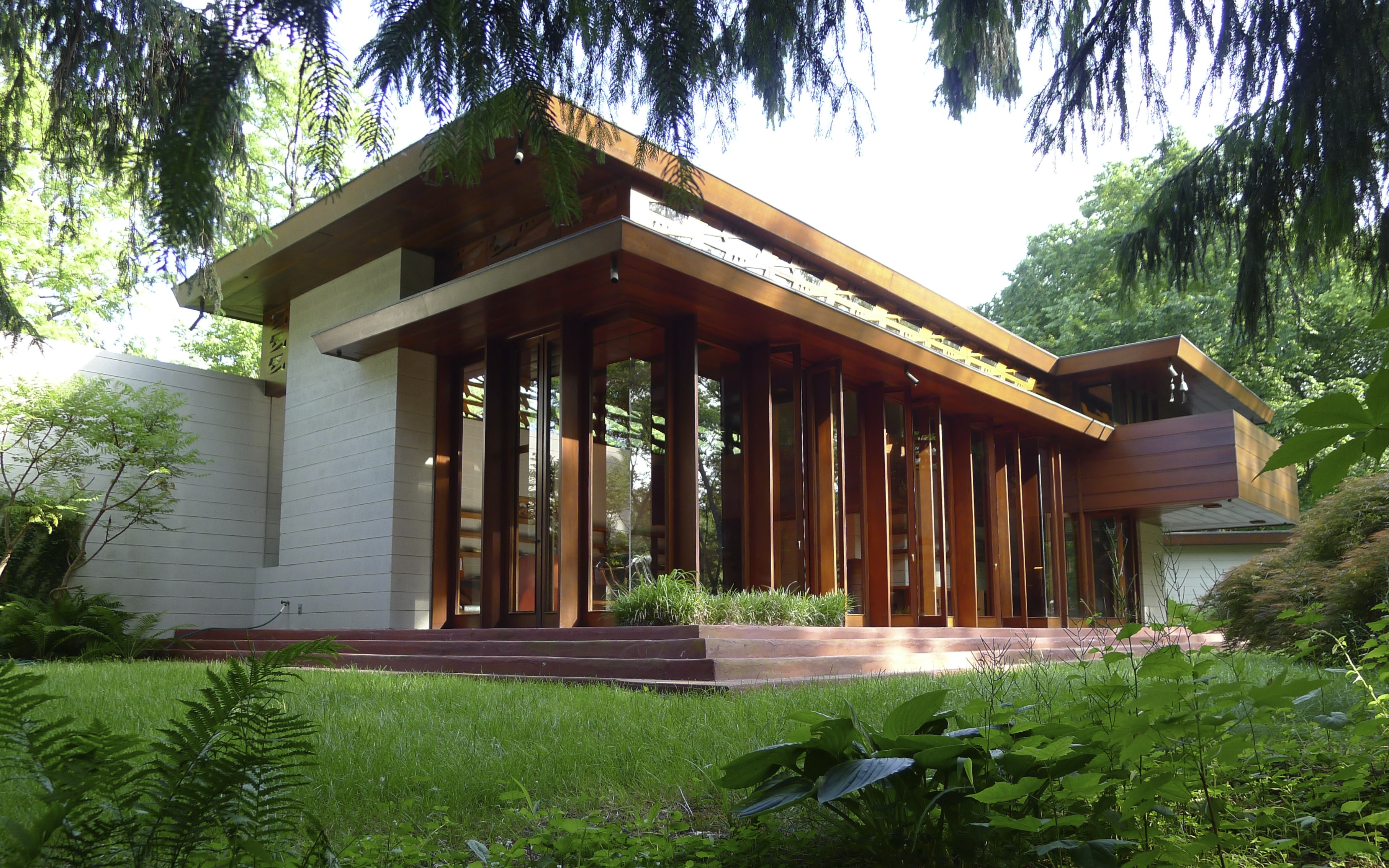 Crystal bridges buys frank lloyd wright house will move it from n j