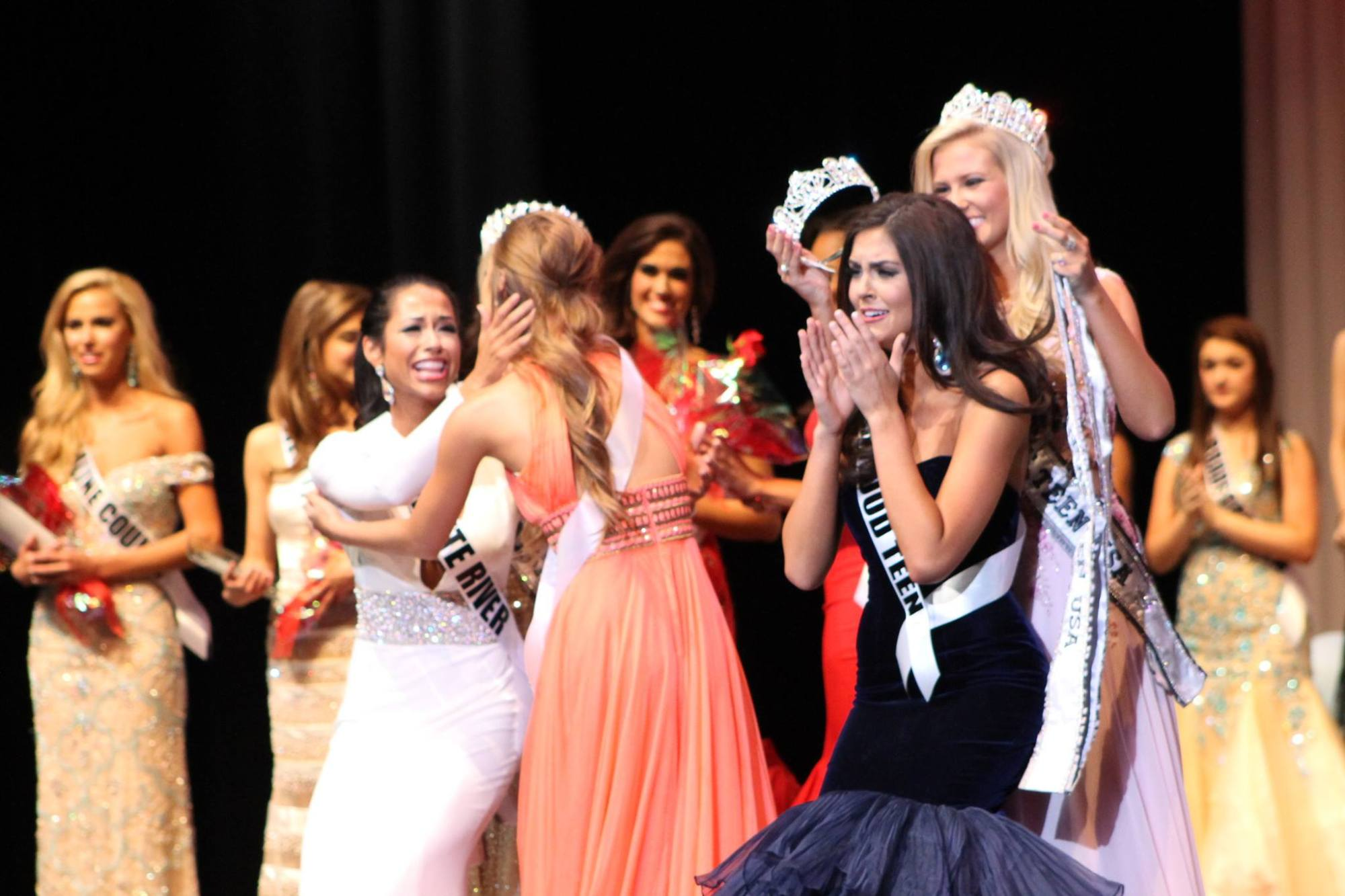 Lauren Weaver crowned Miss Arkansas Teen USA.