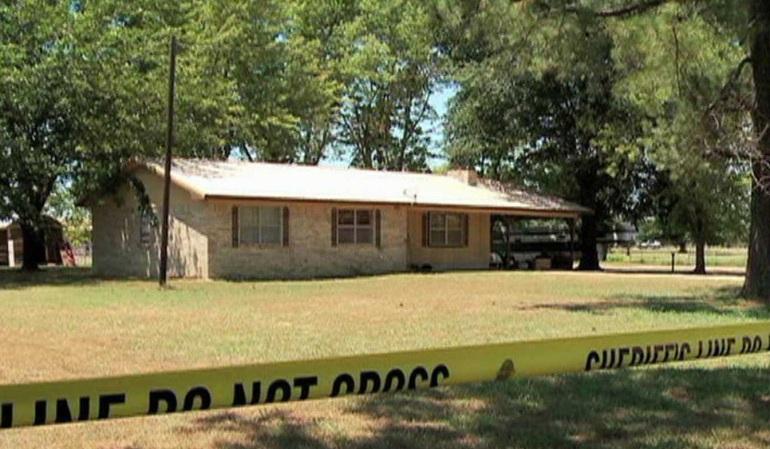 Sequoyah County Murder Scene