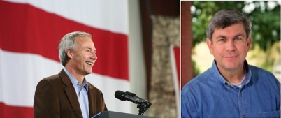 Photos courtesy of Asa Hutchinson (left) and Mike Ross (right).