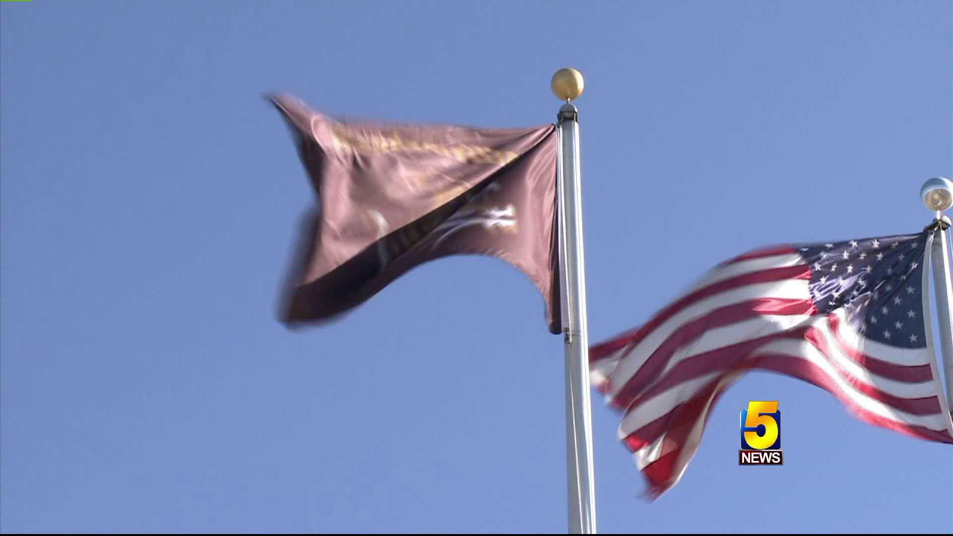 bentonville school flag
