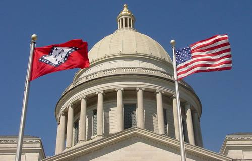 Photo courtesy of the Arkansas Senate.