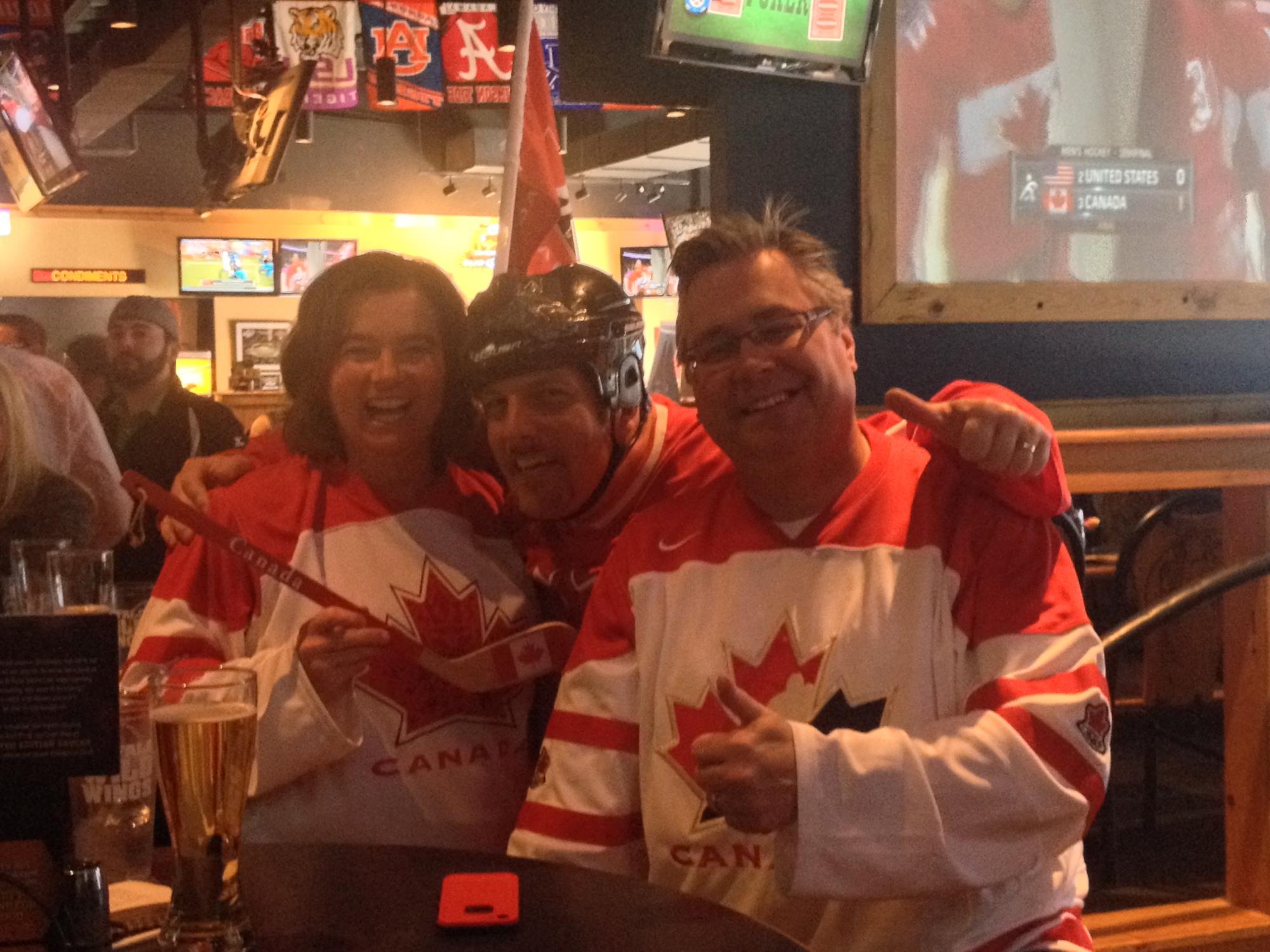 Team Canada fans rejoice in Fayetteville