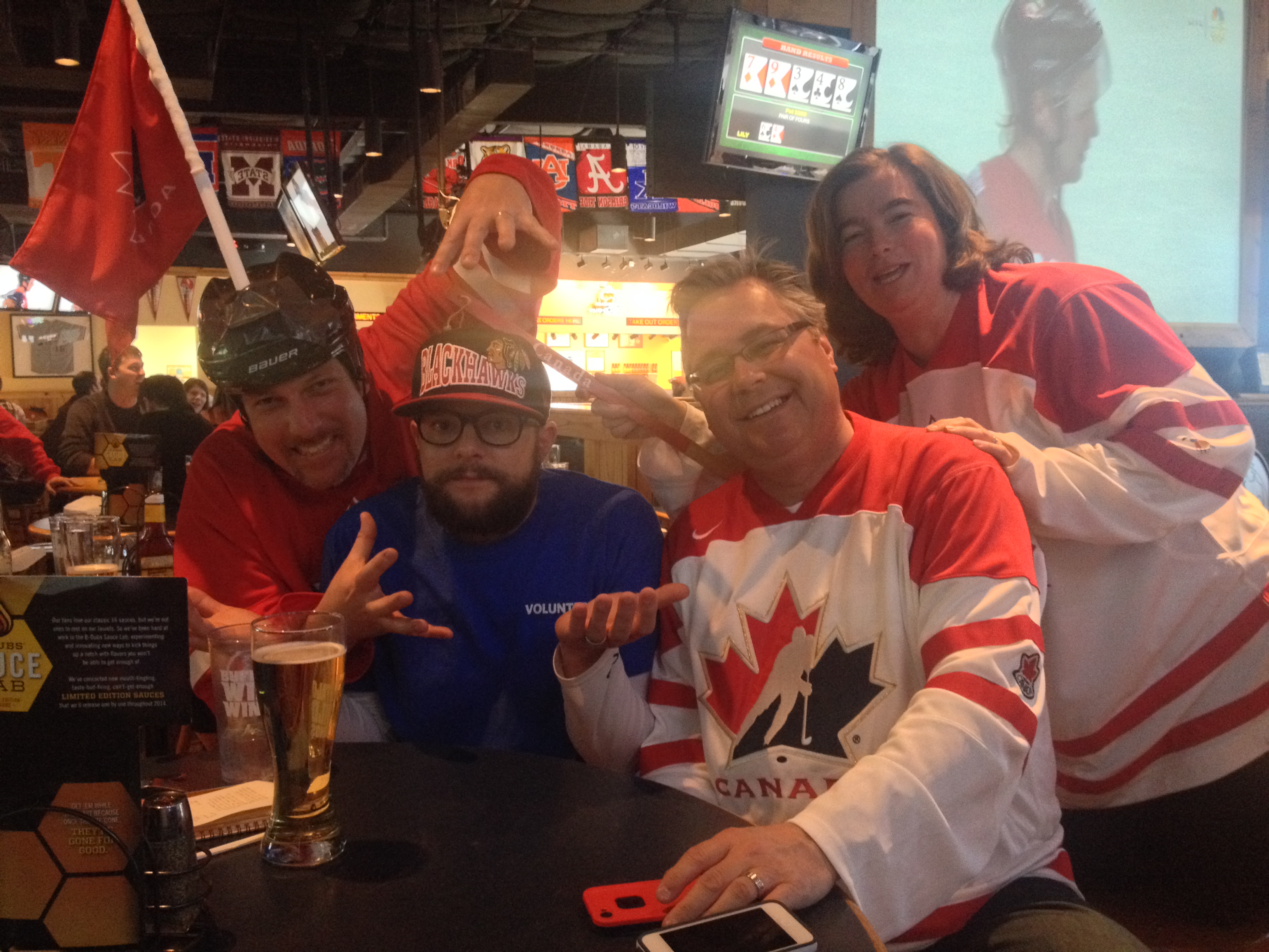 Local hockey fans react to Canada's 1-0 win over USA.