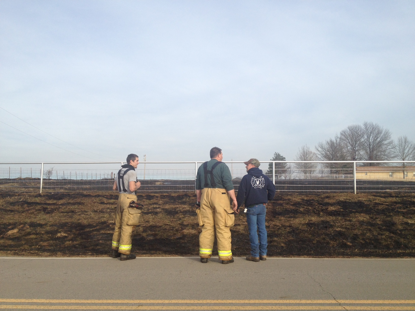 Brush Fire in Sequoyah County